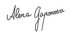 // Alena Gaponova